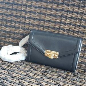 Michael kors kinsley crossbody bag wallet black